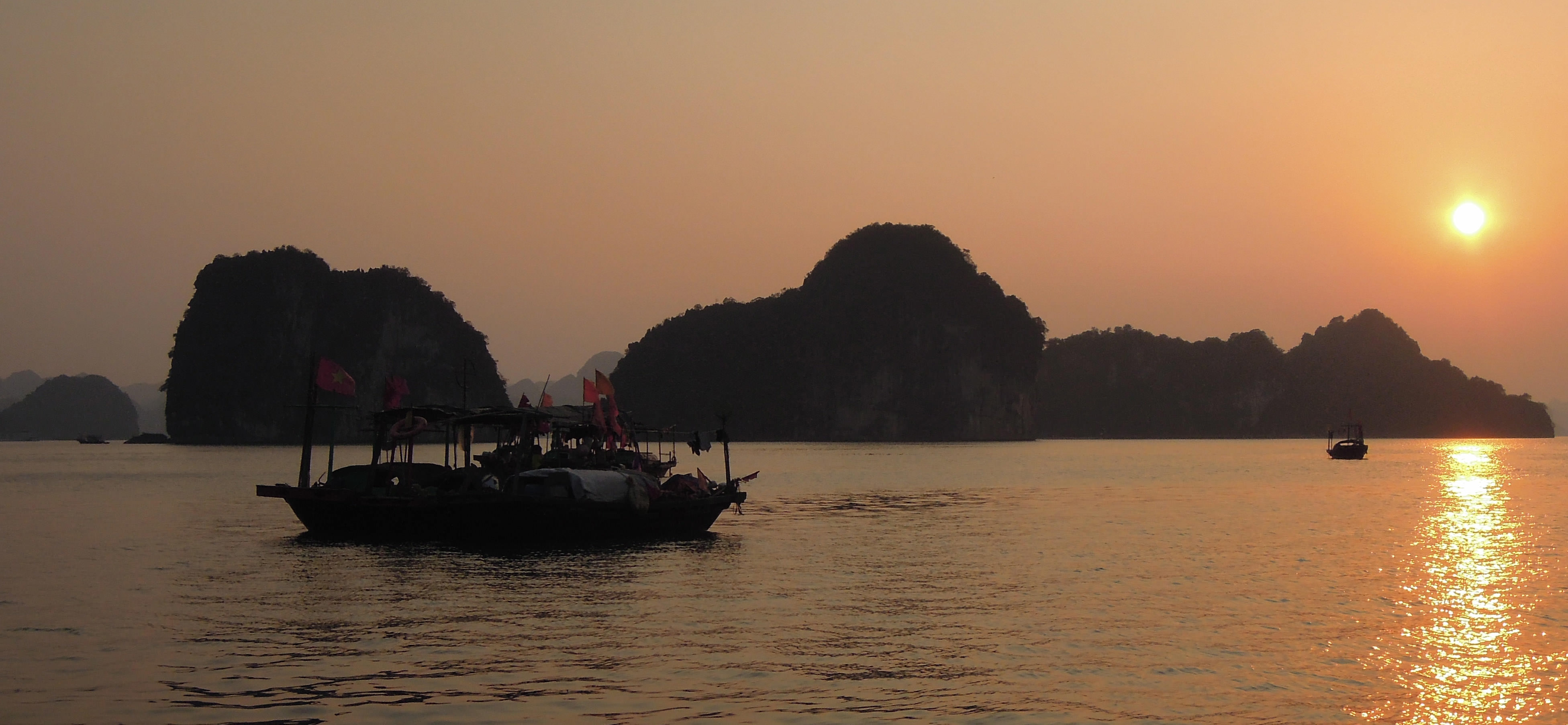 Dag 12, Vertrek uit Ha Long Bay / 'Sit or Sleep'?